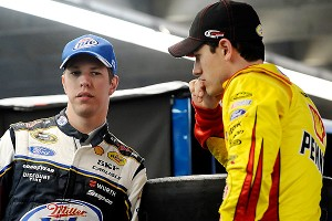 Brad Keselowski and Joey Logano hope to push Penske Racing -- and each other -- into championship contention.