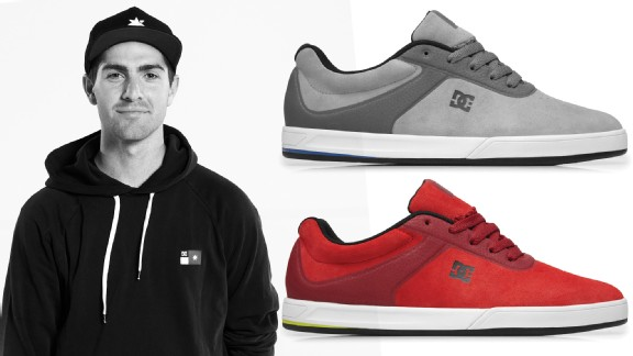 Mike Mo Capaldi and his new Mike Mo S by DC Shoes.