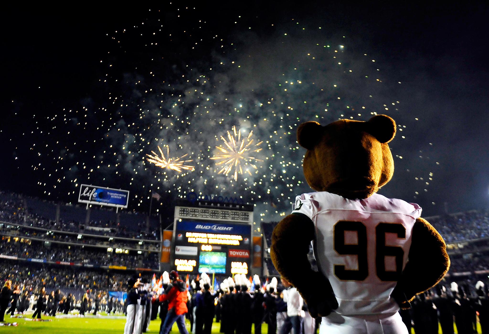 Baylor Bears mascot