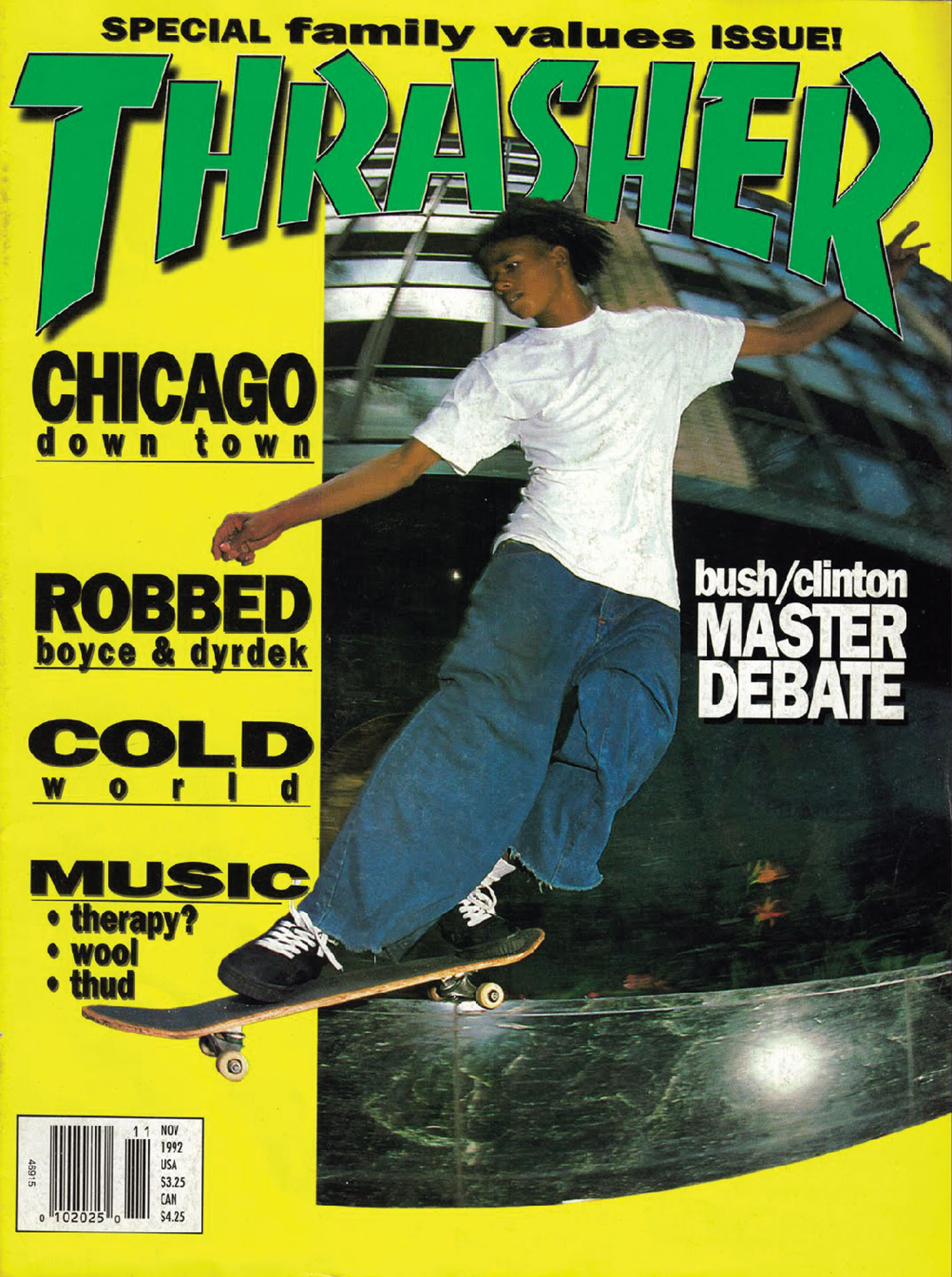 Thrasher Magazine, 1992