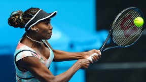 Venus Williams won her opening match at the Australian Open, setting up a potential third-round match against Maria Sharapova.
