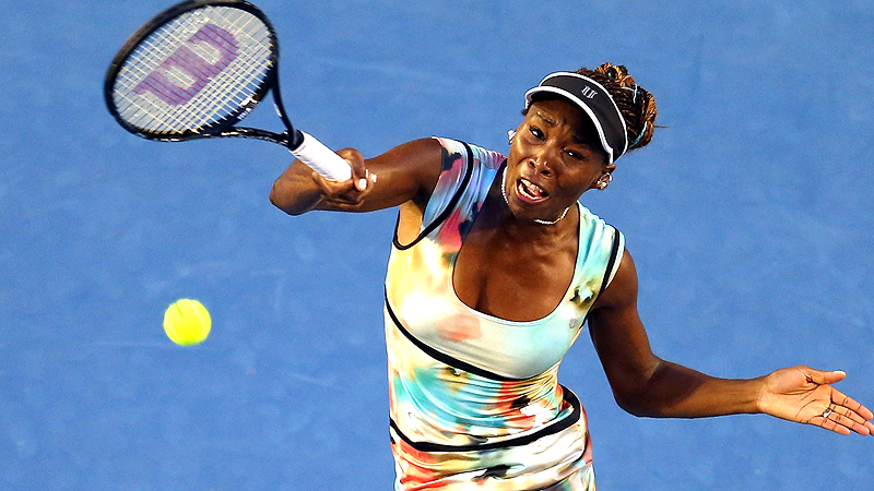 Venus Williams has won seven Grand Slam singles titles, tied for 12th on the all-time list.