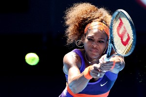 Serena Williams beat Ayumi Morita 6-1, 6-3 to reach the fourth round of the Australian Open.