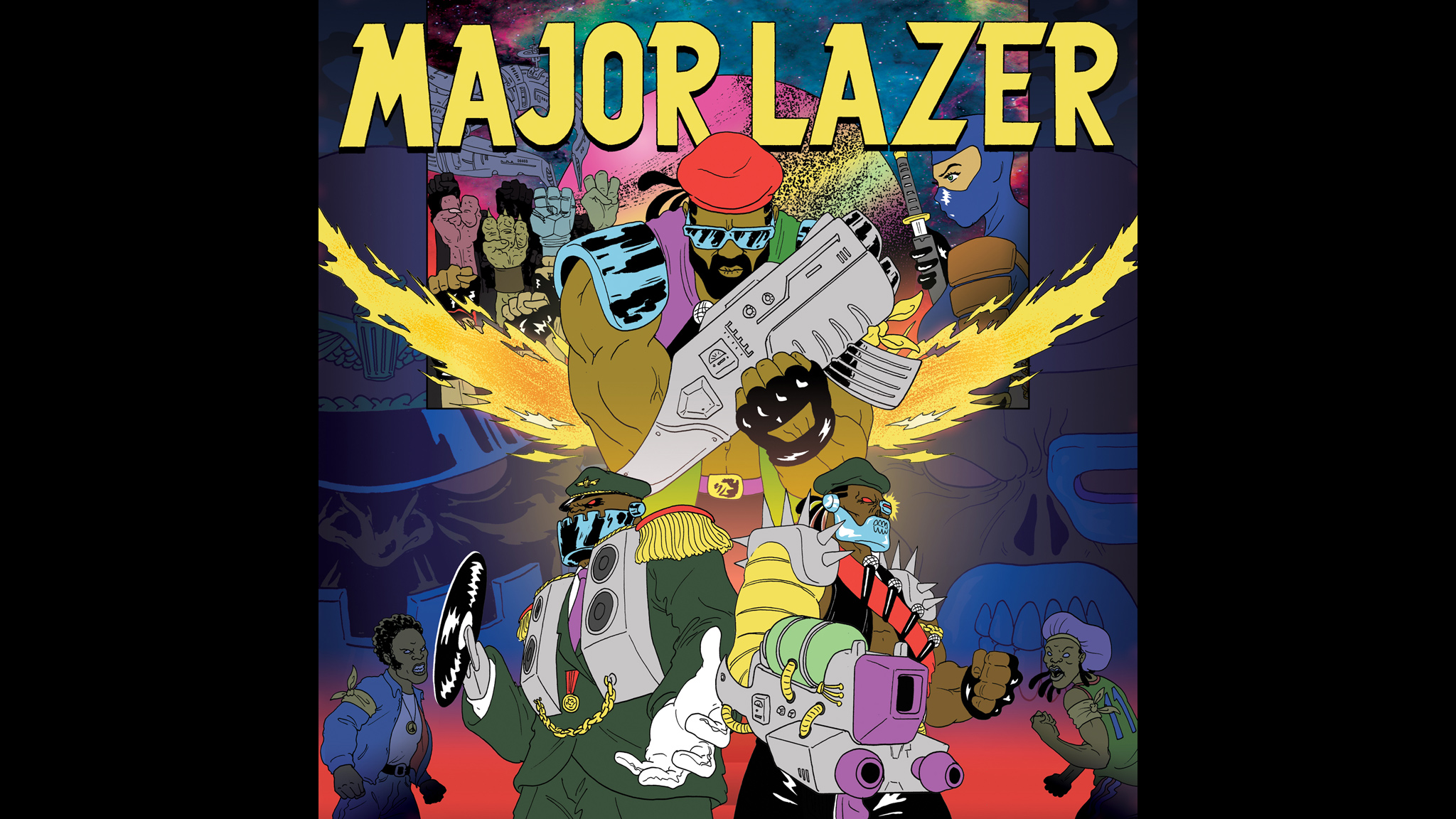 The eponymous stylings of Major Lazer.