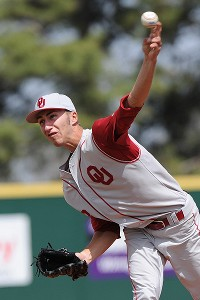 Dillon Overton is one reason why Oklahoma head coach Sunny Golloway is so excited about the Sooners' pitching prospects in 2013.