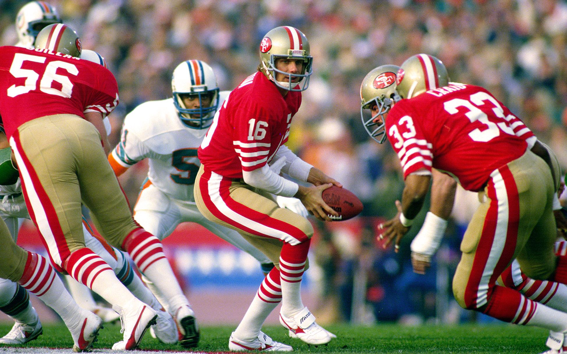 Joe Montana - Super Bowl XIX (24/35, 331 yards, 3 TD; 59 rushing yards, 1 TD)