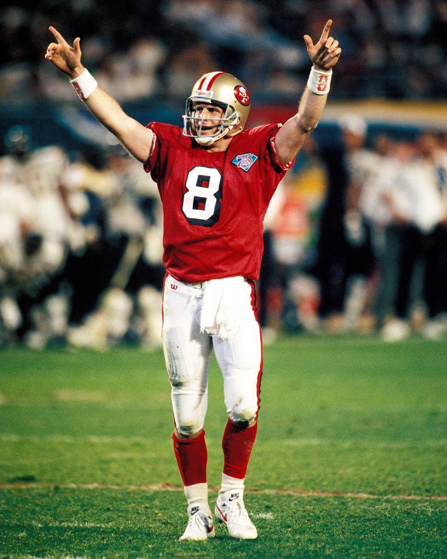 Steve Young - Super Bowl XXIX (24/36, 325 yards, 6 TDs)