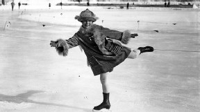 Sonja Henie was just 11 at the inaugural Winter Olympics.