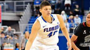 Freshman Sydney Moss is the third-leading scorer for the Gators, who are 13-8 heading into Thursday's game against Missouri.