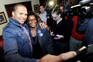 The Ravens' Brendon Ayanbadejo has been a strong advocate for marriage equality, in and around Baltimore.