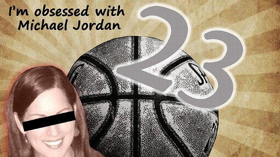Sarah Spain admits her obsession with Michael Jordan, who will always be her greatest of all time.