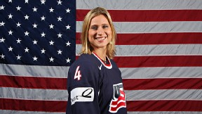 Angela Ruggiero won four Olympic hockey medals with Team USA.