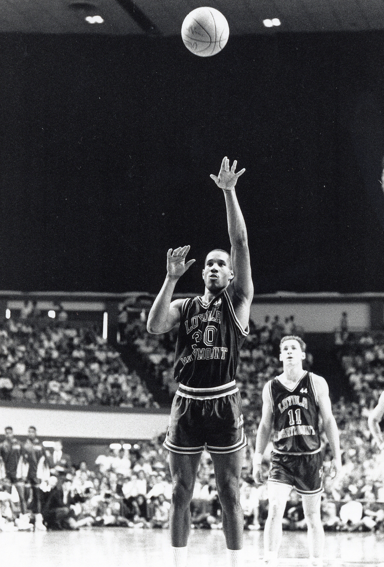Bo Kimble Shoots Lefty