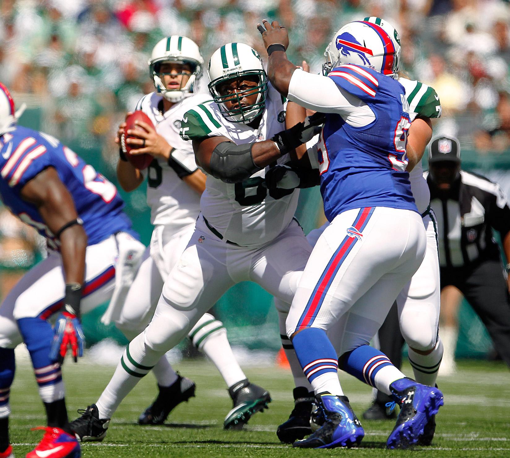 Brandon Moore, G, Jets