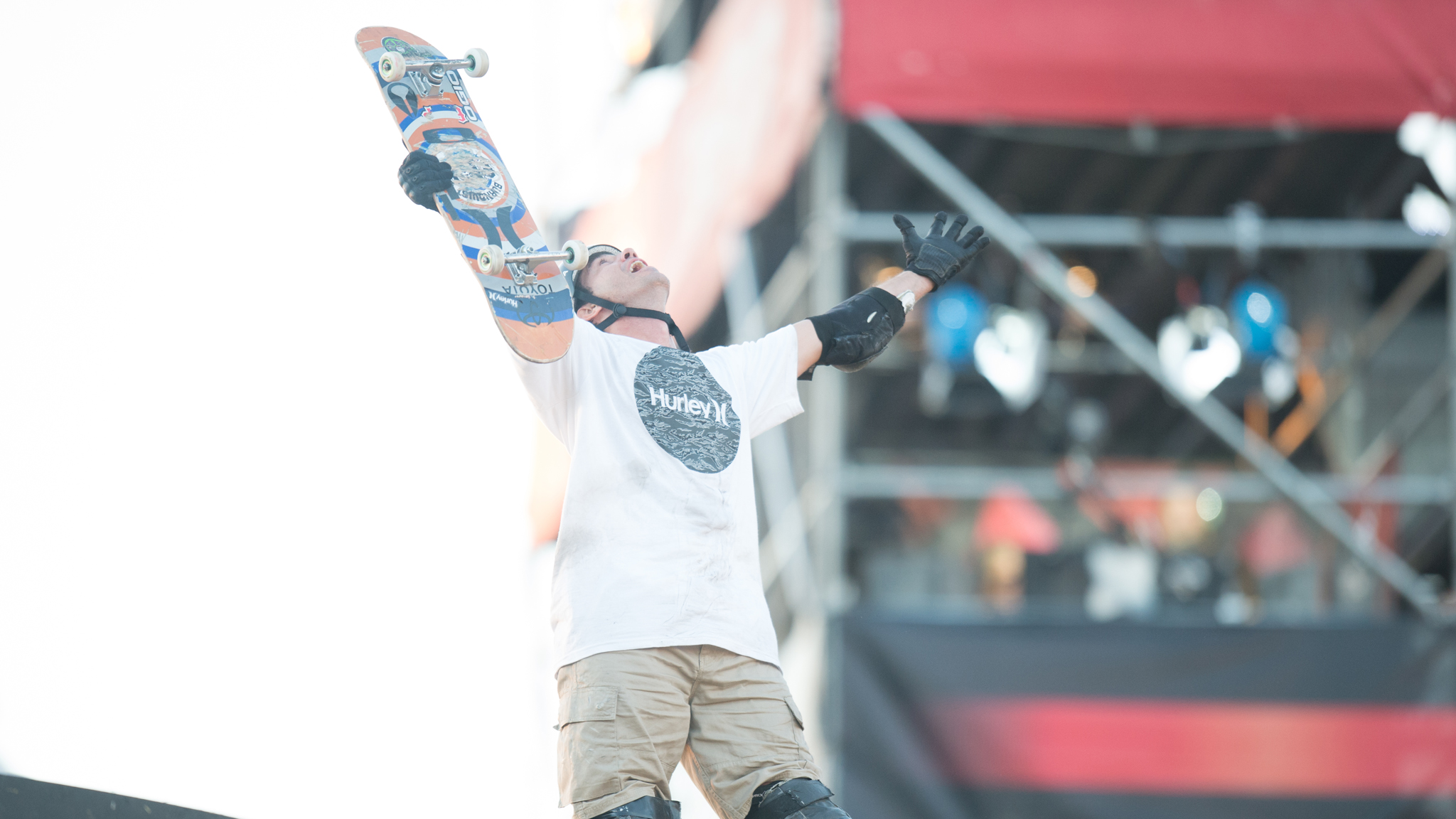Brazilian skateboard pro Bob Burnquist is invited to compete in Skateboard Big Air at X Games Foz do Iguau in April.