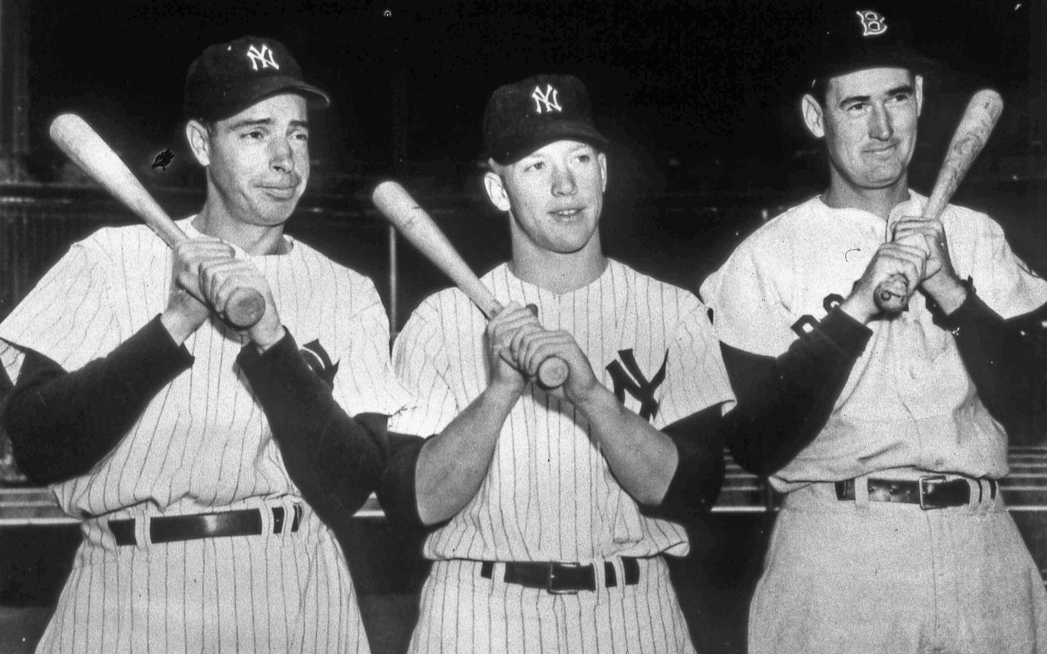 Joe DiMaggio, Mickey Mantle