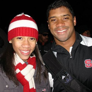 Anna Wilson has been compared to her big brother since his days at NC State, but Russell Wilson says Anna is the best athlete in the family.