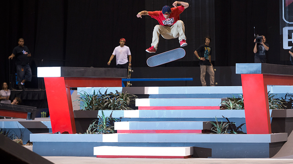Ryan Sheckler and the rest of the Street League skaters will now compete in Street League at the X Games.
