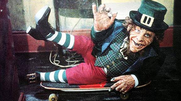 Ye ol' leprechaun shoes for St. Patrick's Day!