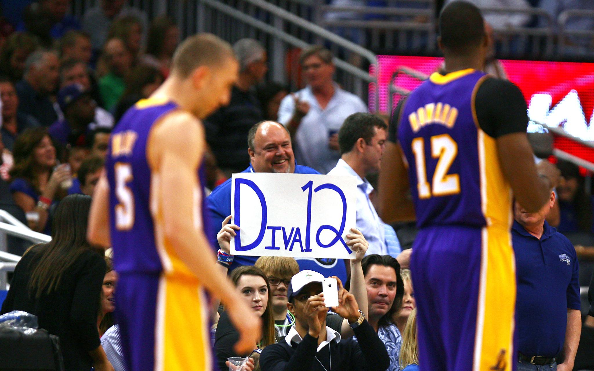 Fans taunt Howard