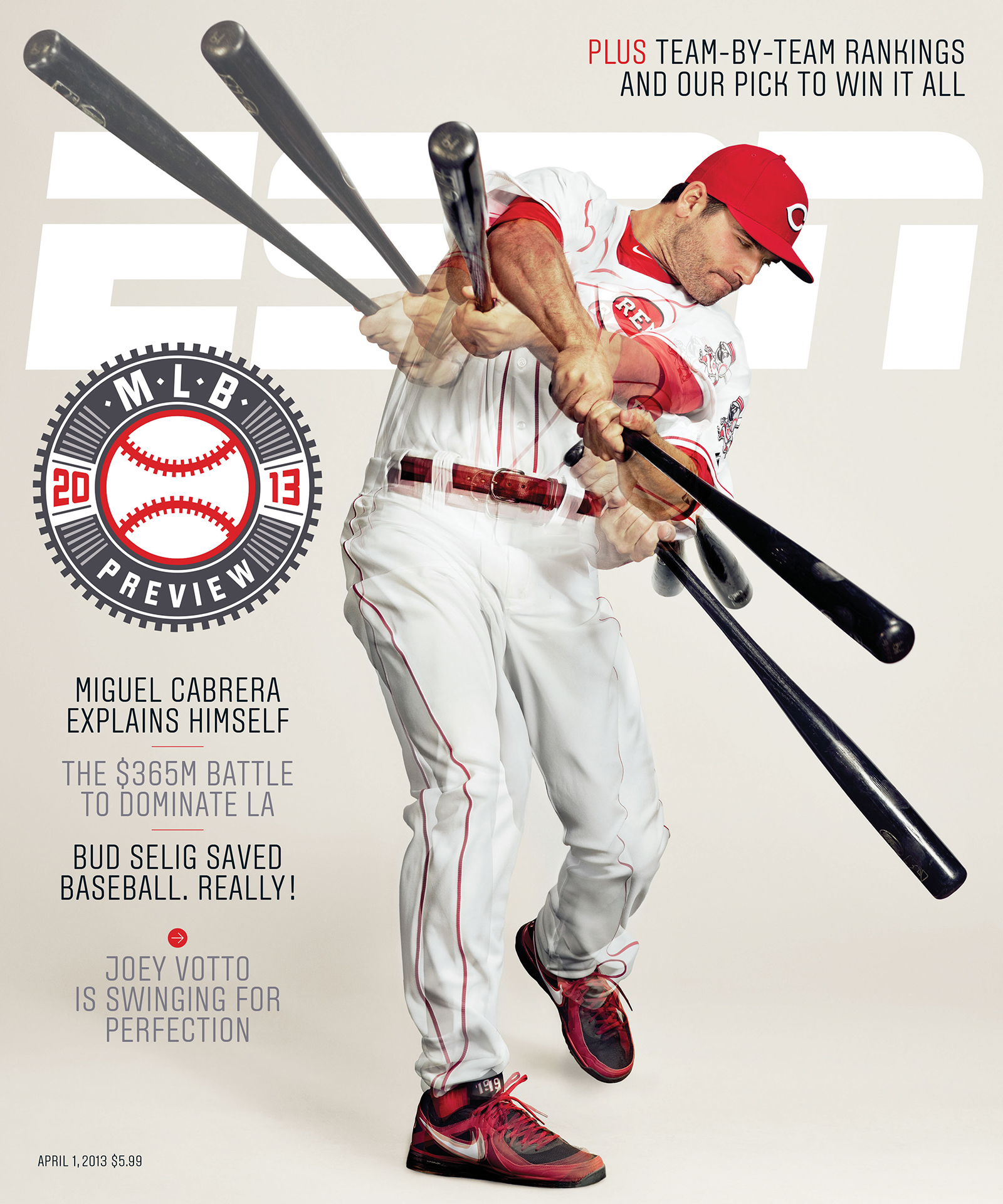 ESPN The Magazine's 2013 MLB Preview Issue