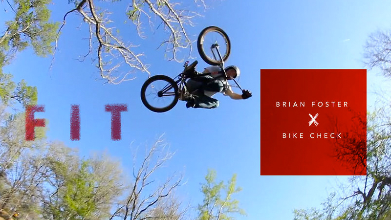 Brian Foster escapes the clutches of a New Jersey winter to film a new bike check in Austin, Texas.