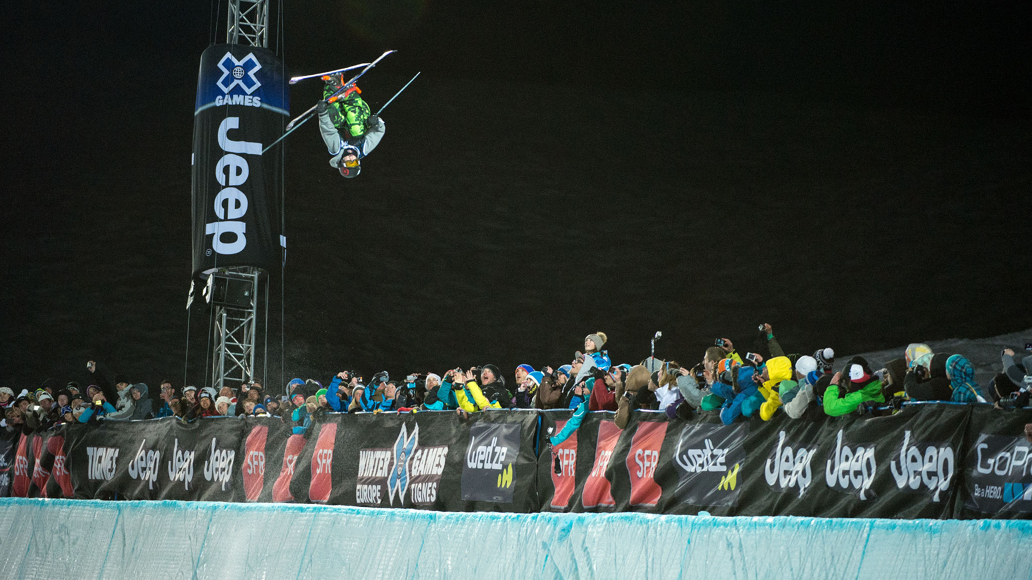 Torin Yater-Wallace won his second consecutive X Games Tignes gold medal in the Men's Ski SuperPipe at 17 years old.