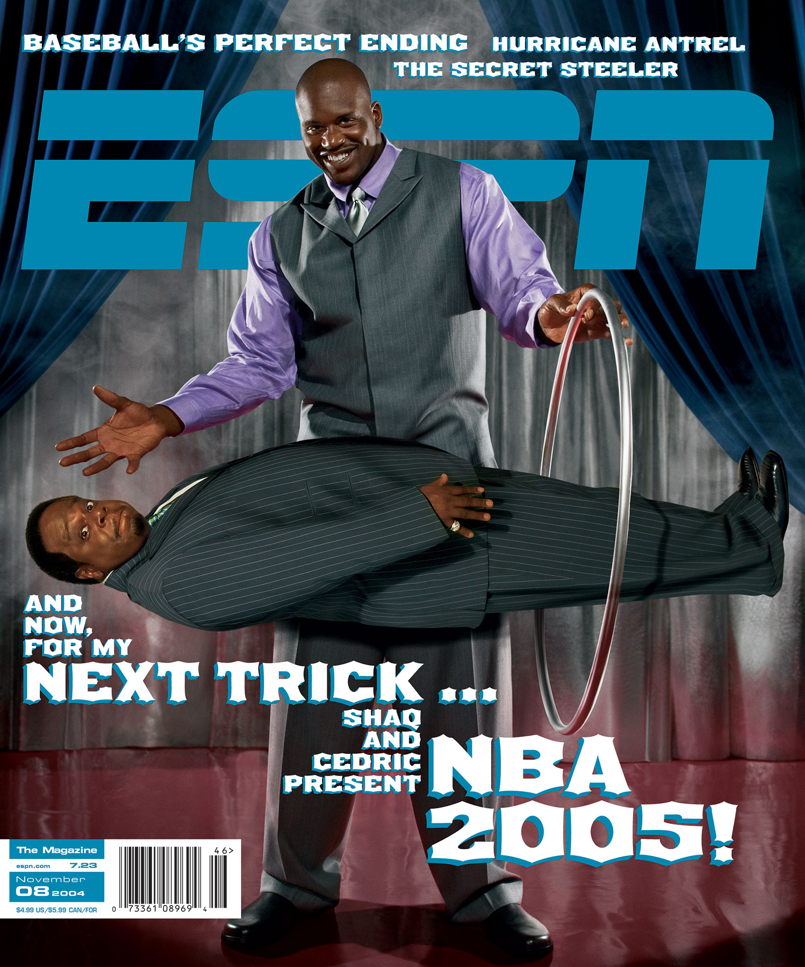 ESPN The Magazine 2004 Covers