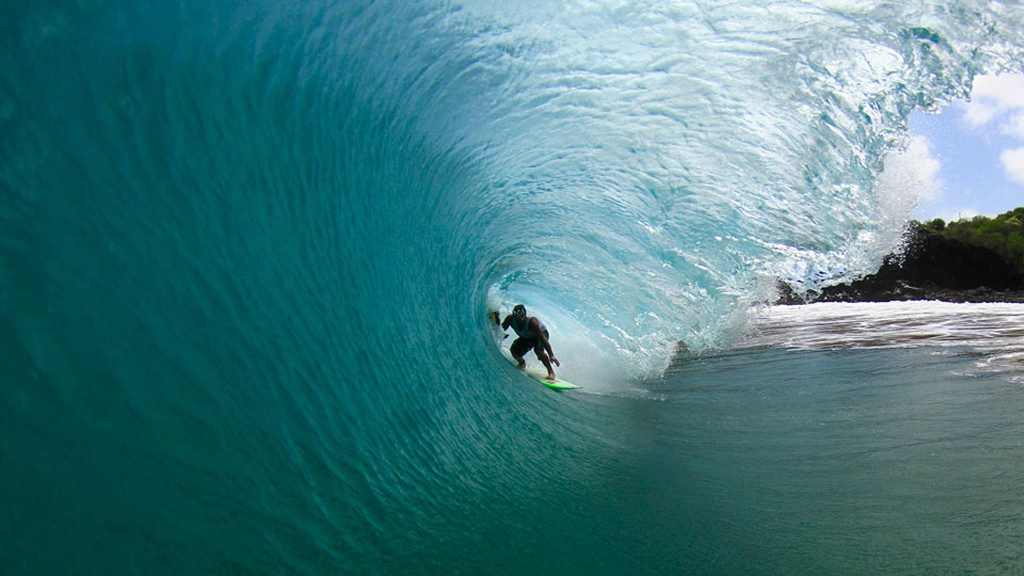 Swell em Noronha