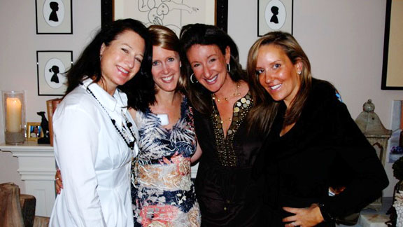 Wendy Gardiner, from left, Heidi Armitage, Jane Green and Stacy Steponate Greenberg pose for this 2009 photo.
