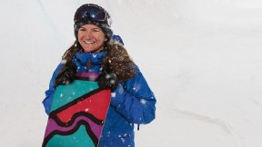 Traveling and training in winter weather has Kelly Clark hopeful for a remote-controlled thermostat.