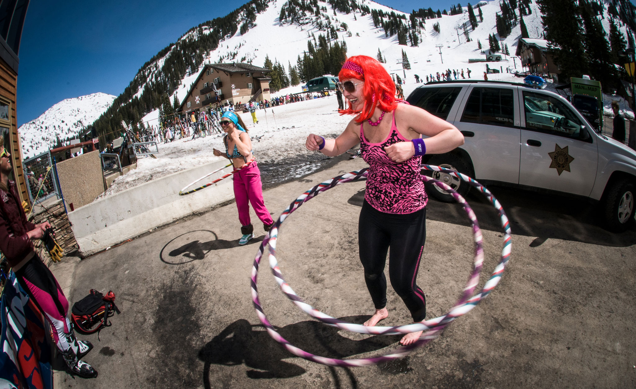 Springtime at ski resorts brings warm weather, corn snow, skiing in costumes, and big parties and festivals. These are pro skier Griffin Post's picks for his 12 favorite springtime festivals at ski resorts around the world.