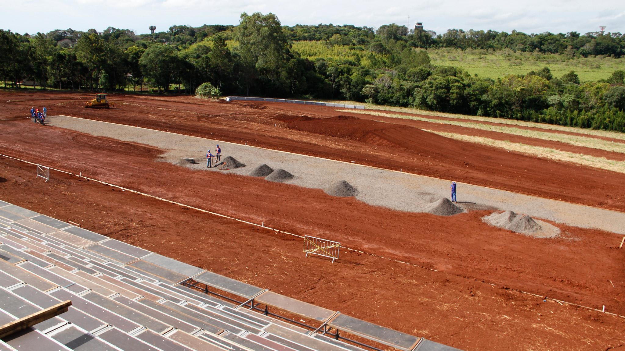 RallyCross construction