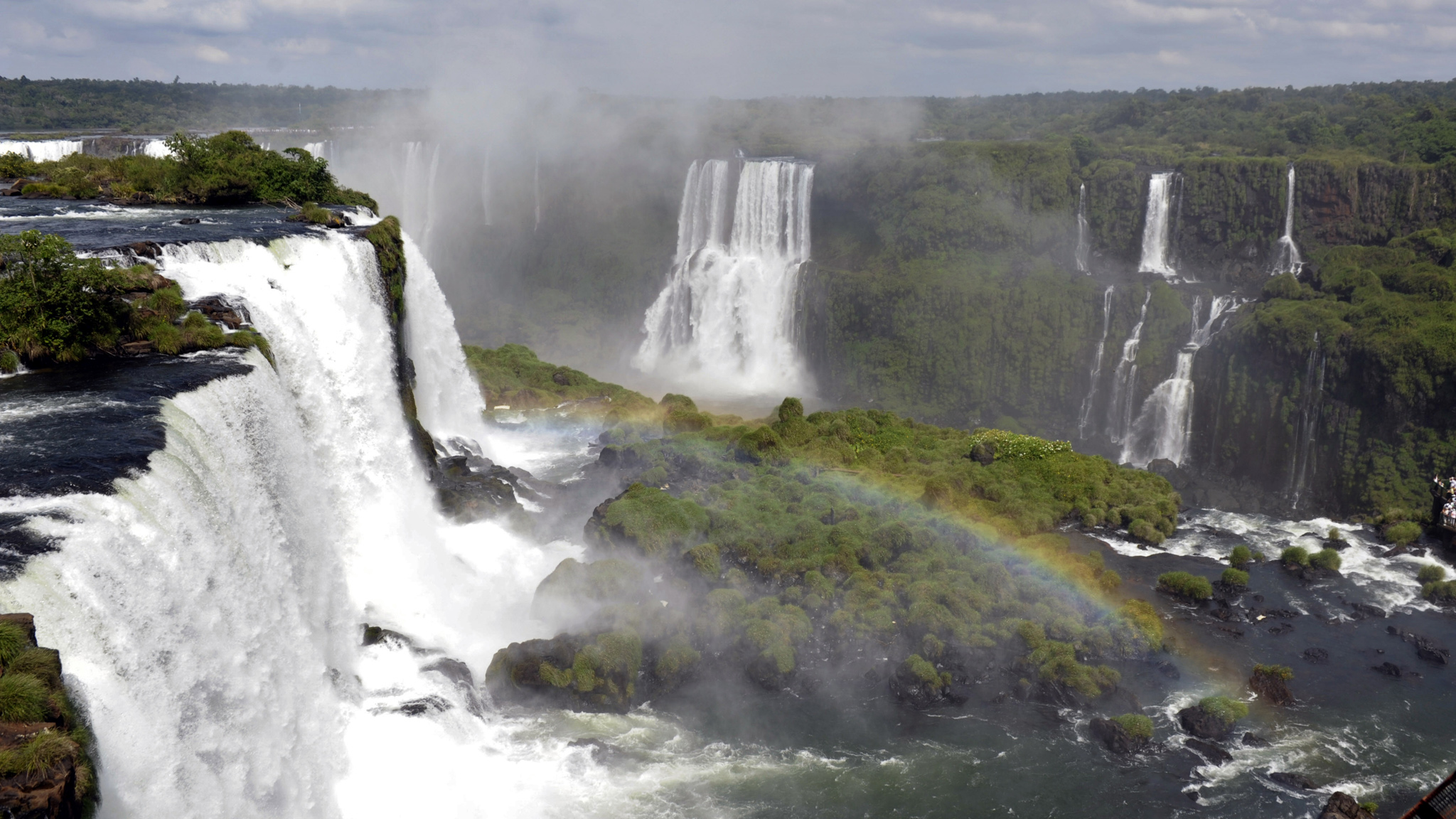 Brazil's Iguau Falls is one of the New Seven Wonders of Nature and will act as the backdrop to X Games Vert this week.