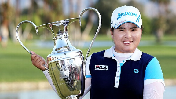 Inbee Park made 20 birdies during the tournament, including the first two holes Sunday, getting her off to a strong start.