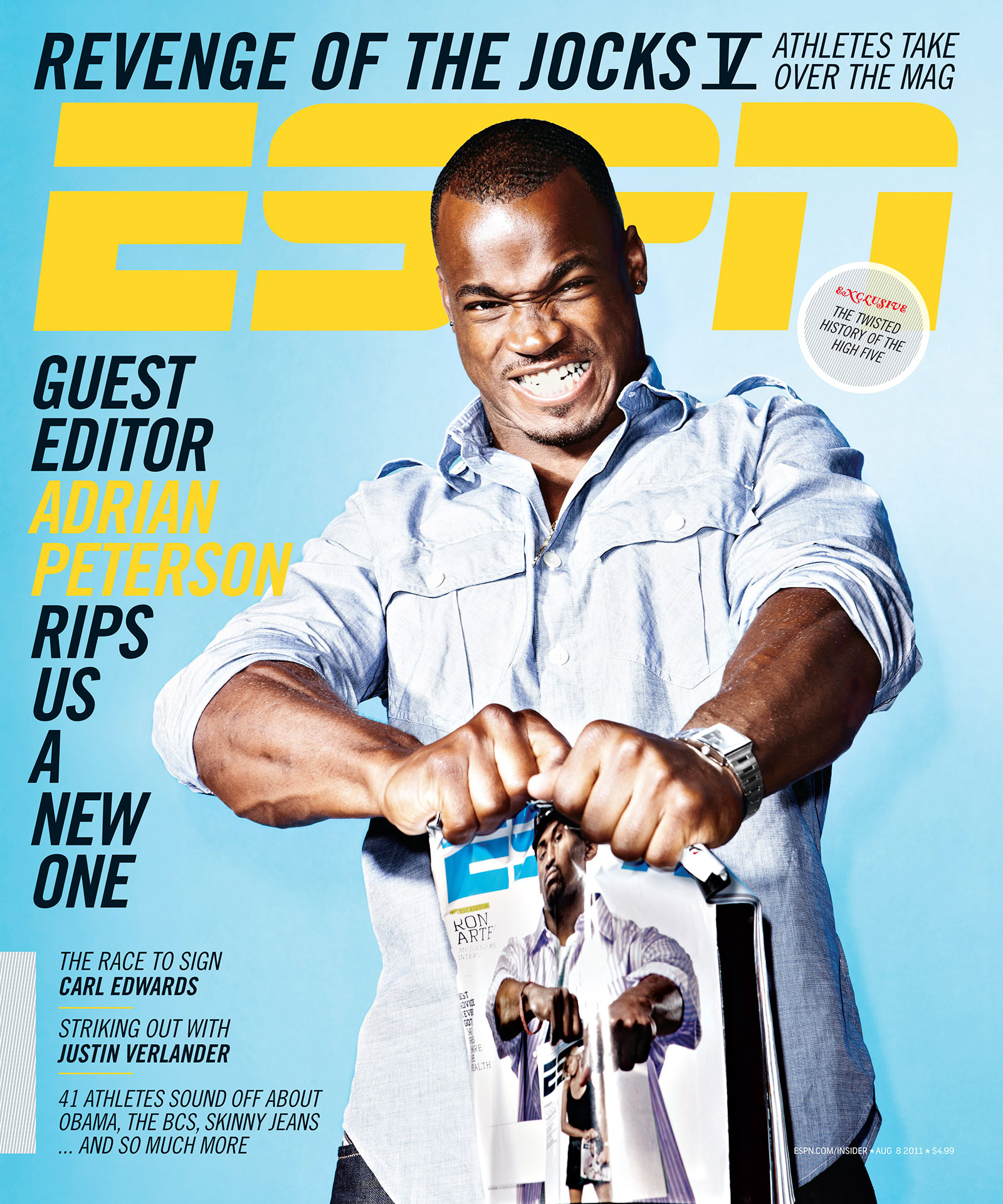 ESPN The Magazine 2011 Covers