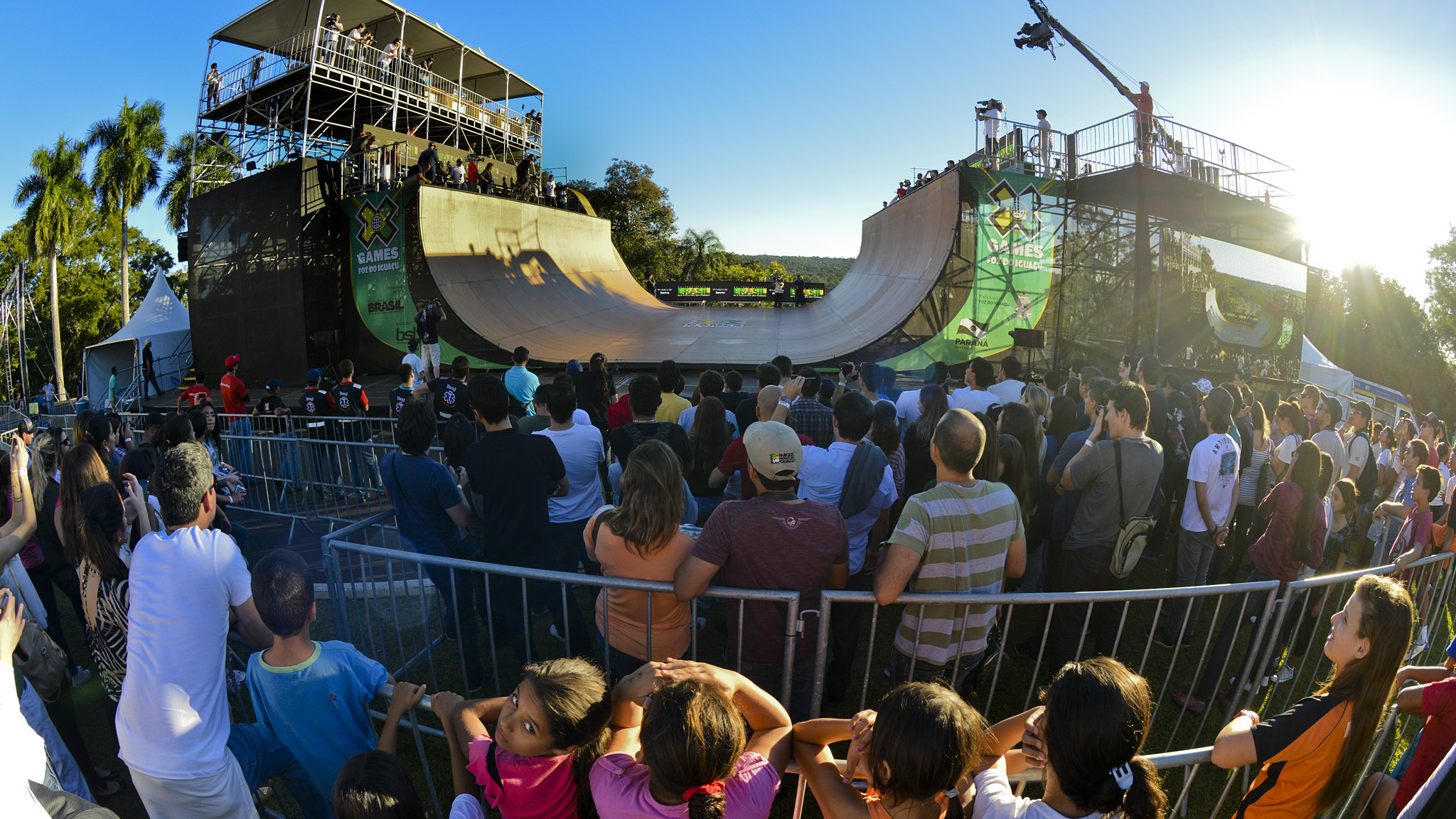 Halfpipe at X Games Foz