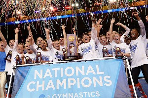 Florida rallied to win its first NCAA women's gymnastics title Saturday.