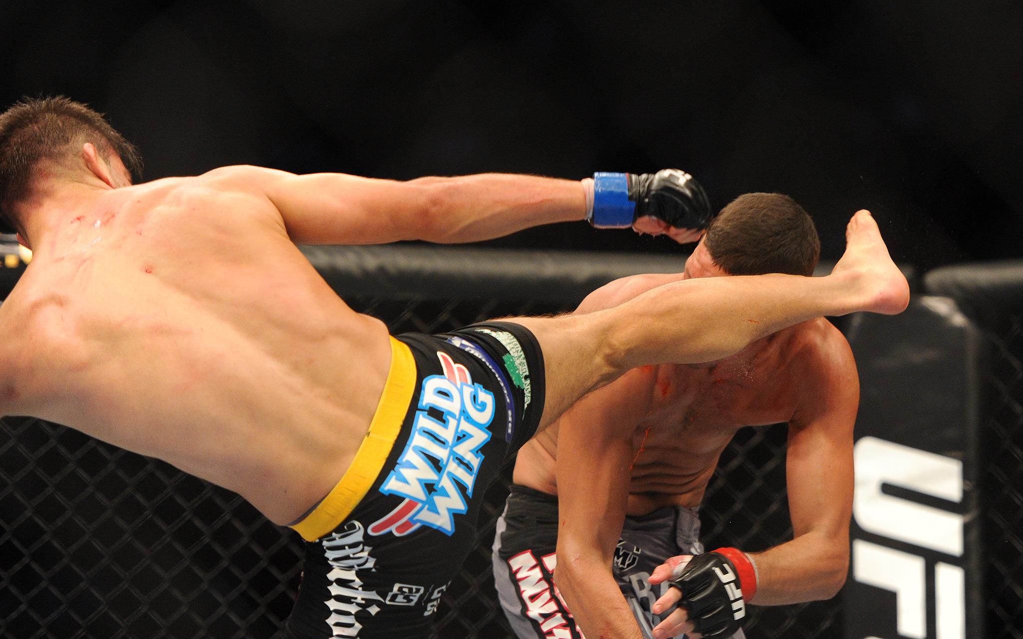 Nate Diaz vs. Josh Thomson