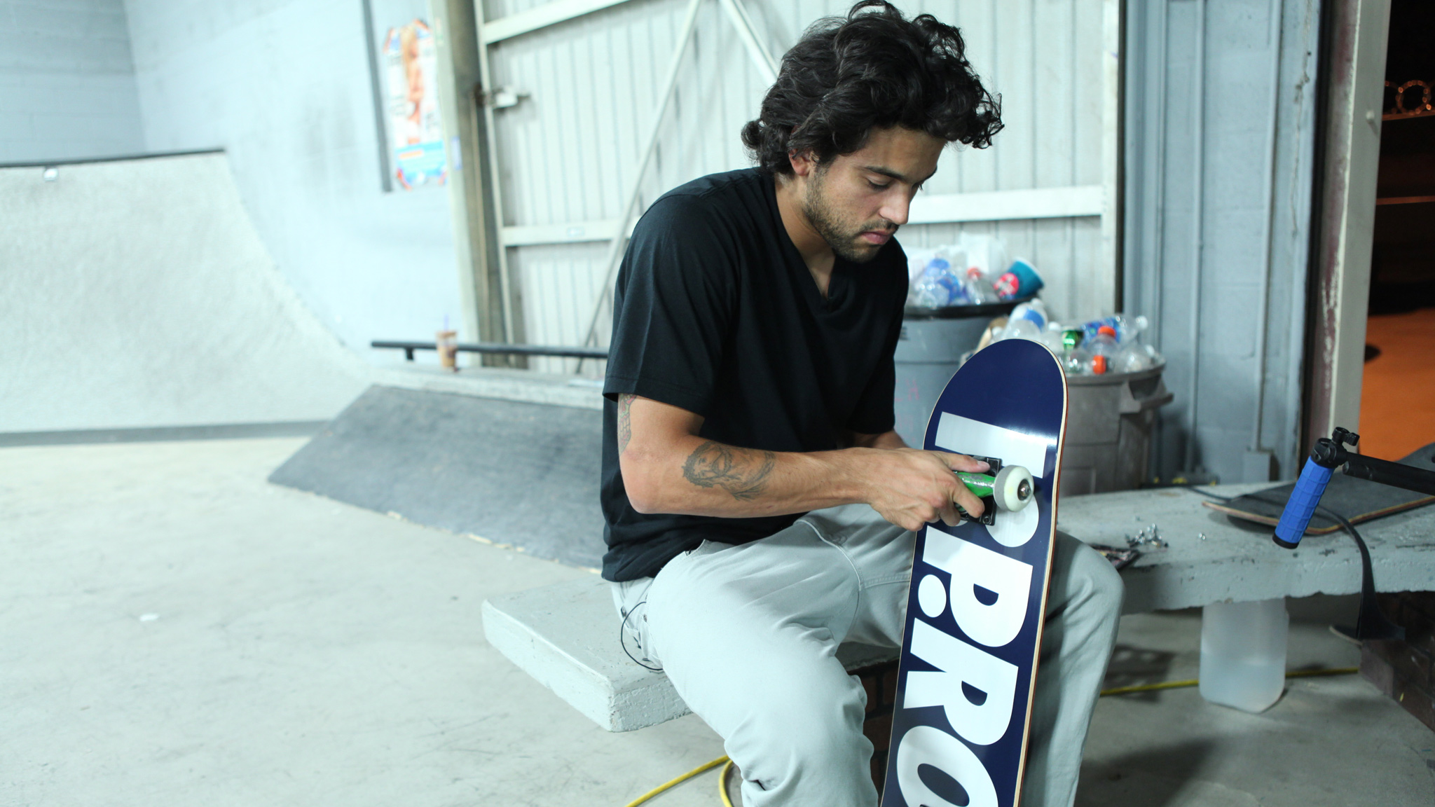Paul Rodriguez is featured in the film The Motivation -- a behind-the-scenes look at Street League Skateboarding.