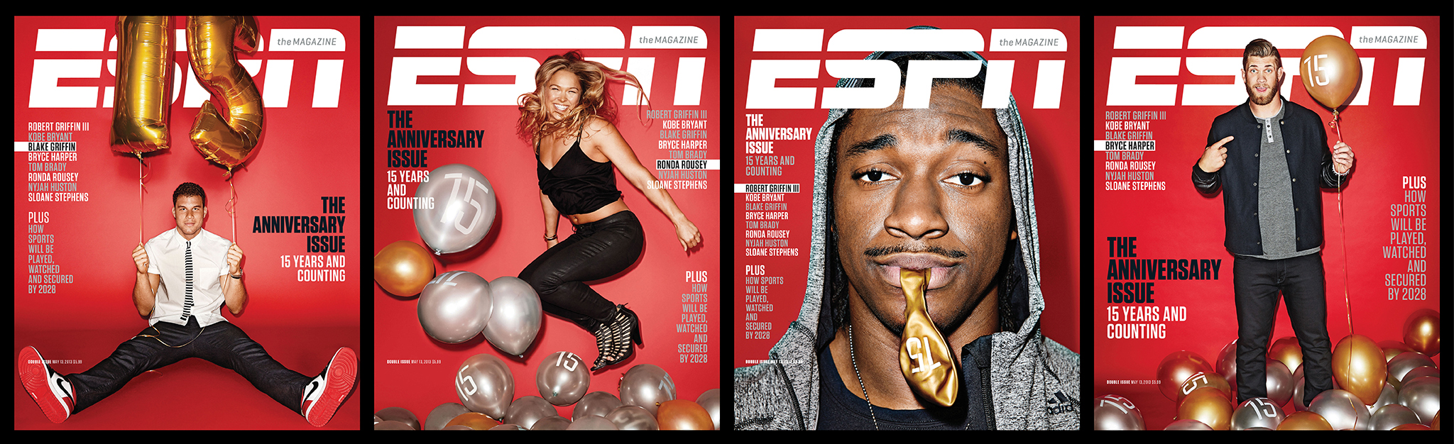 ESPN The Magazine's 15th Anniversary Issue