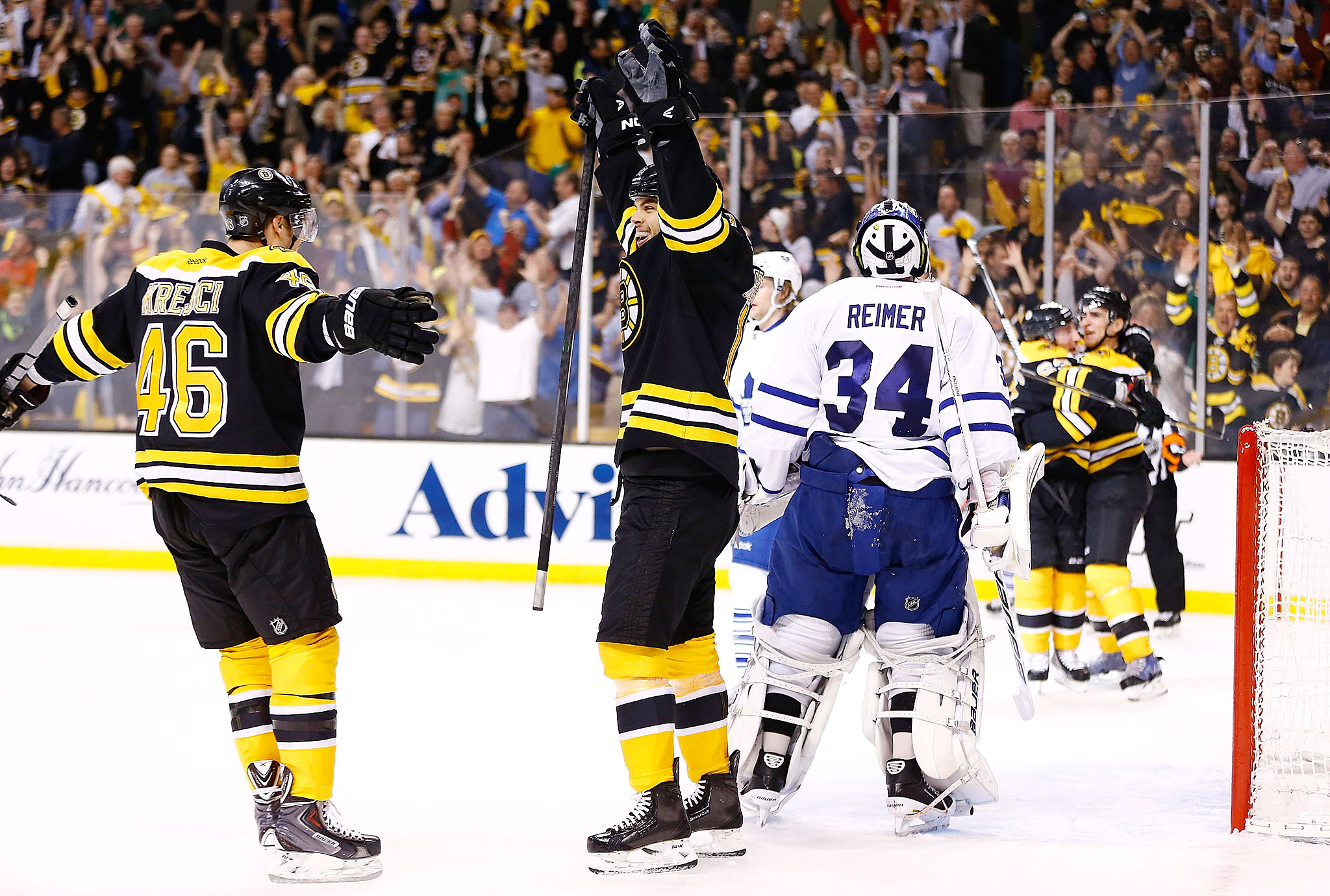 Game 1: Bruins 4, Maple Leafs 1