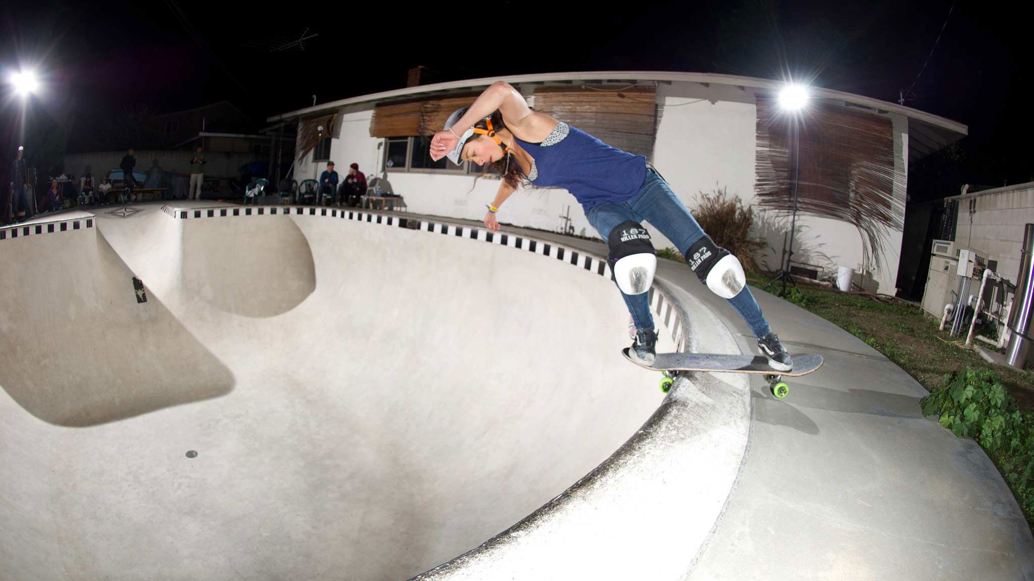 Lizzie Armanto would like to claim the first-ever X Games Women's Skateboard Park gold medal.