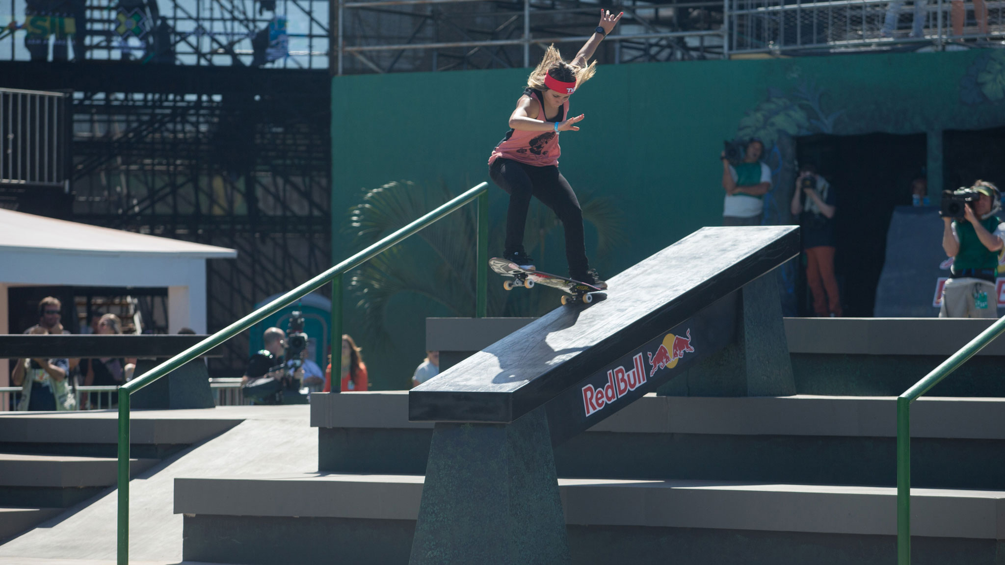 Leticia Bufoni hopes momentum from her gold medal win in Women's Skateboard Street at X Games Foz will translate to a first-ever Women's Park gold in Barcelona.