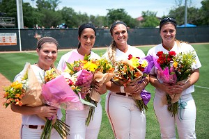 Senior Day was emotional for the players, and each one of them delivered.