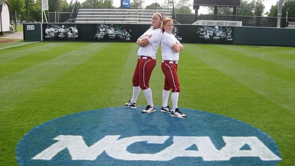 There's nothing like seeing the NCAA logo painted on the field to get a team excited to play.
