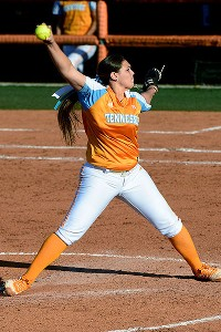 Cheyanne Tarango was clutch in a scoreless inning of relief as one of three Lady Vols pitchers.