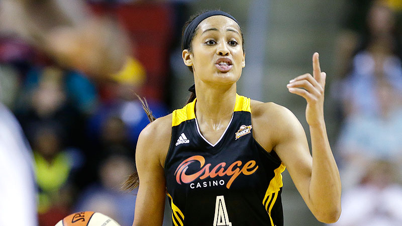 Skylar Diggins' No. 4 has been the second-most purchased WNBA jersey this season behind Brittney Griner's.
