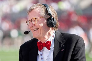 Retired Ohio State president Gordon Gee took his time apologizing following critical comments about Catholics, Notre Dame and SEC schools.
