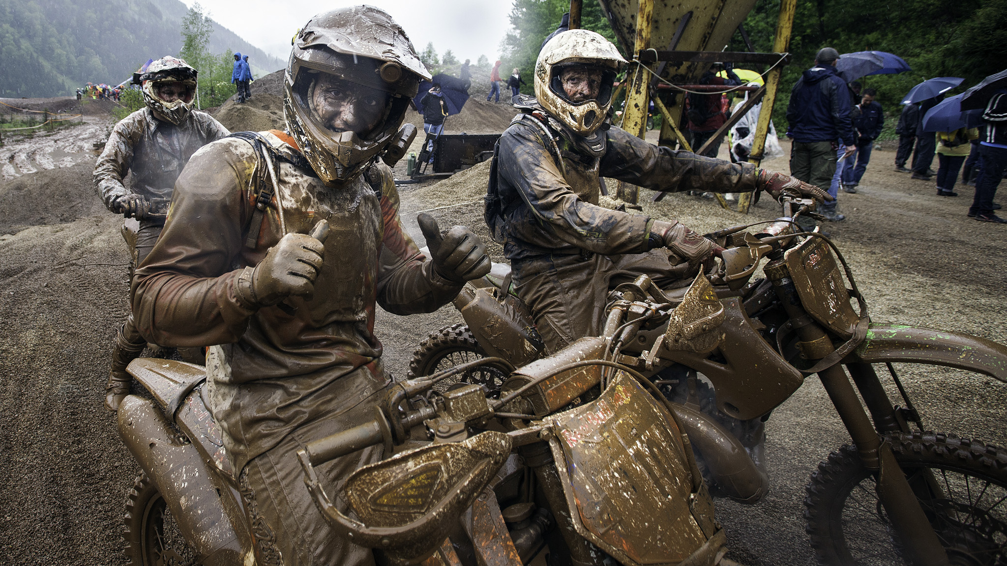 Erzberg rodeo s red bull hare scramble lives up to its description